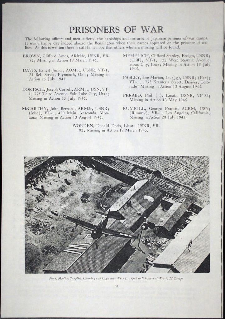 uss-bennington-cruise-book-1945