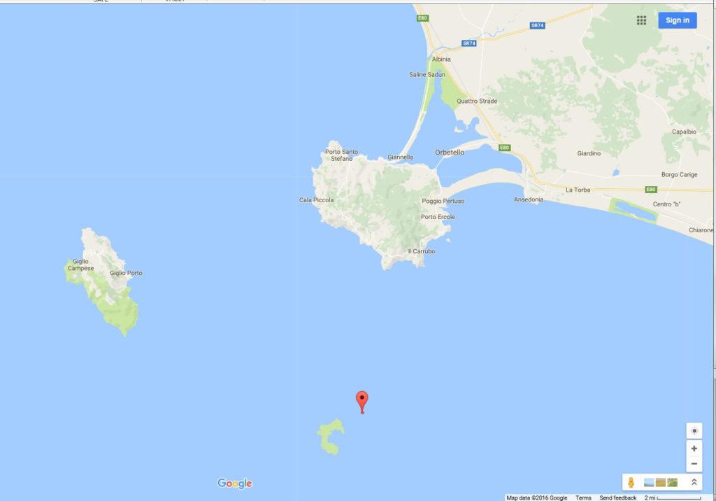 Map 4 42-16 N 11-08 E